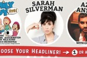 Sarah Silverman, Aziz Ansari and Family Guy Live to Headline JFL42