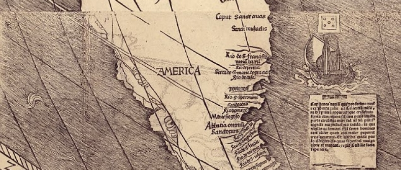 500 Year Old Map Of America.500 Year Old Map Burns Christopher Columbus Toronto Standard