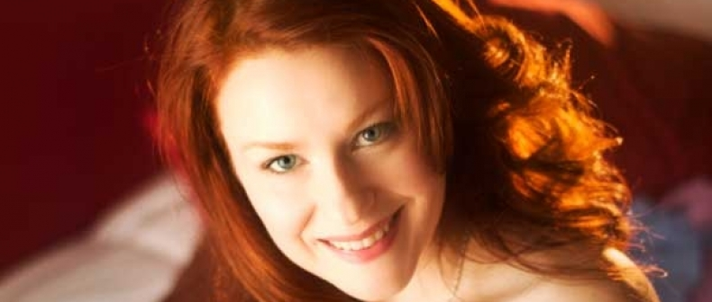 Camille Crimson Sweet Redhead Blowjob